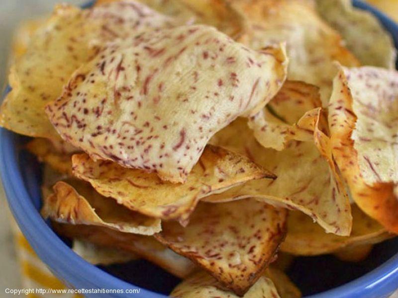 Chips de taro
